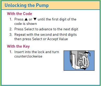 Solis VIP unlocking the pump
